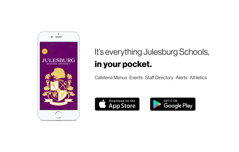 Julesburg School District's New App!