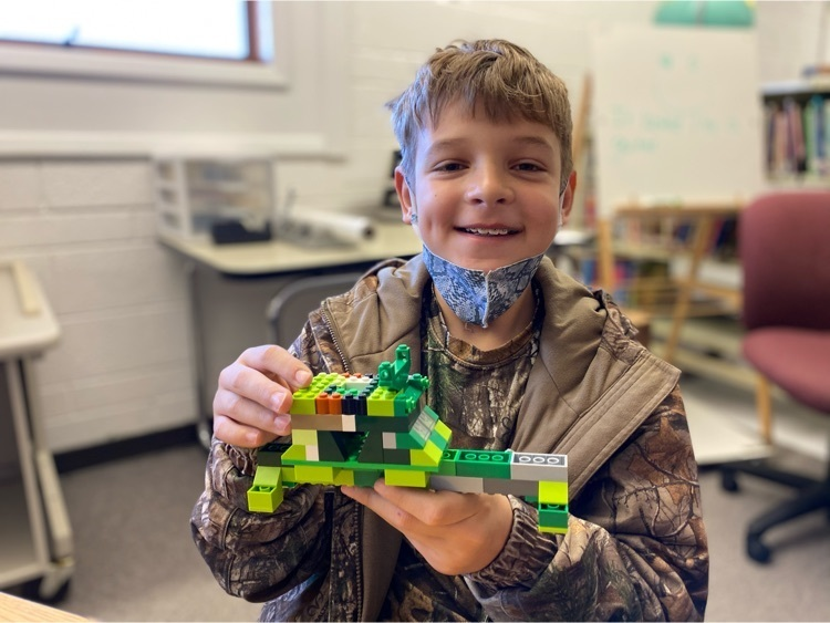 Riggs is taking home new ideas for his LEGO creations.