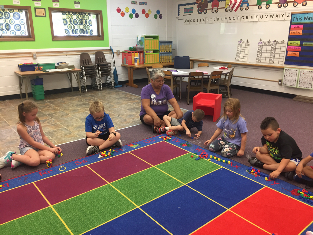 Kindergarten math-teddy bear exploration