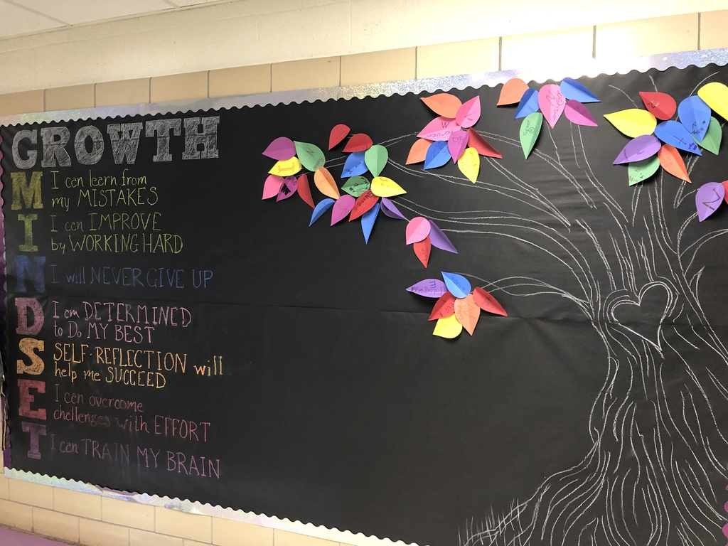 Students pledge to have a growth mindset.