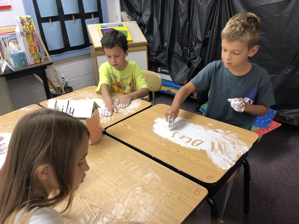 Shaving cream spelling words