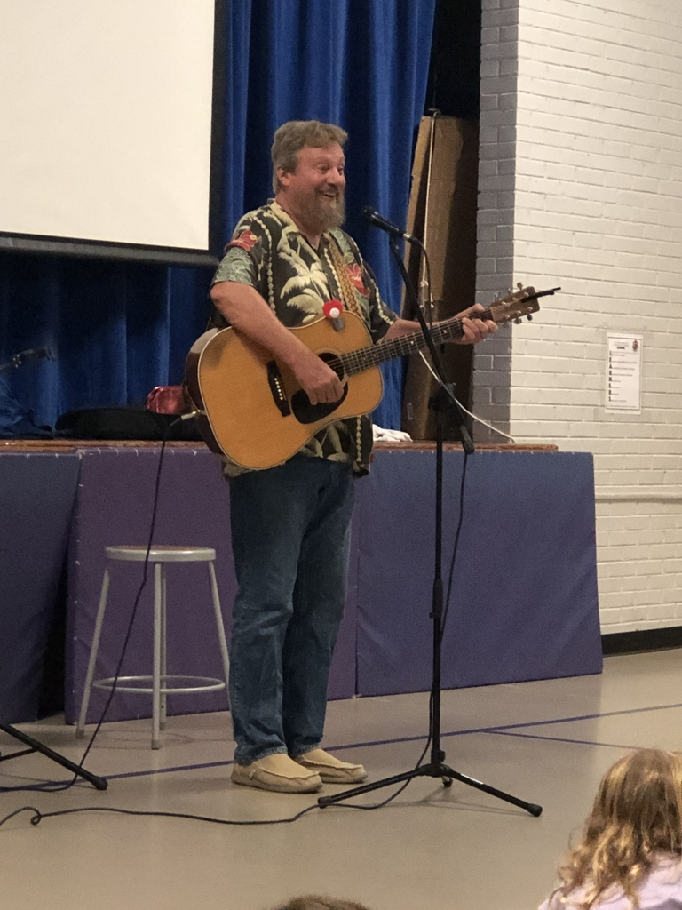 Singer/songwriter Dan Crow performing his enjoyable and educational songs for families.
