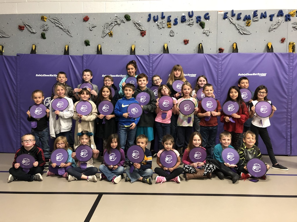 JES Students of the Week throughout the month of October