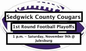 SCC 1st Round Football Playoffs