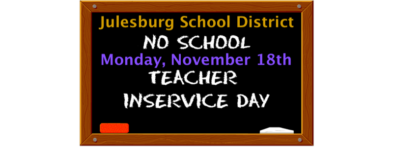 No School - Teacher Inservice