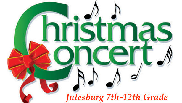 Christmas Music Concert (7th-12th Grade)