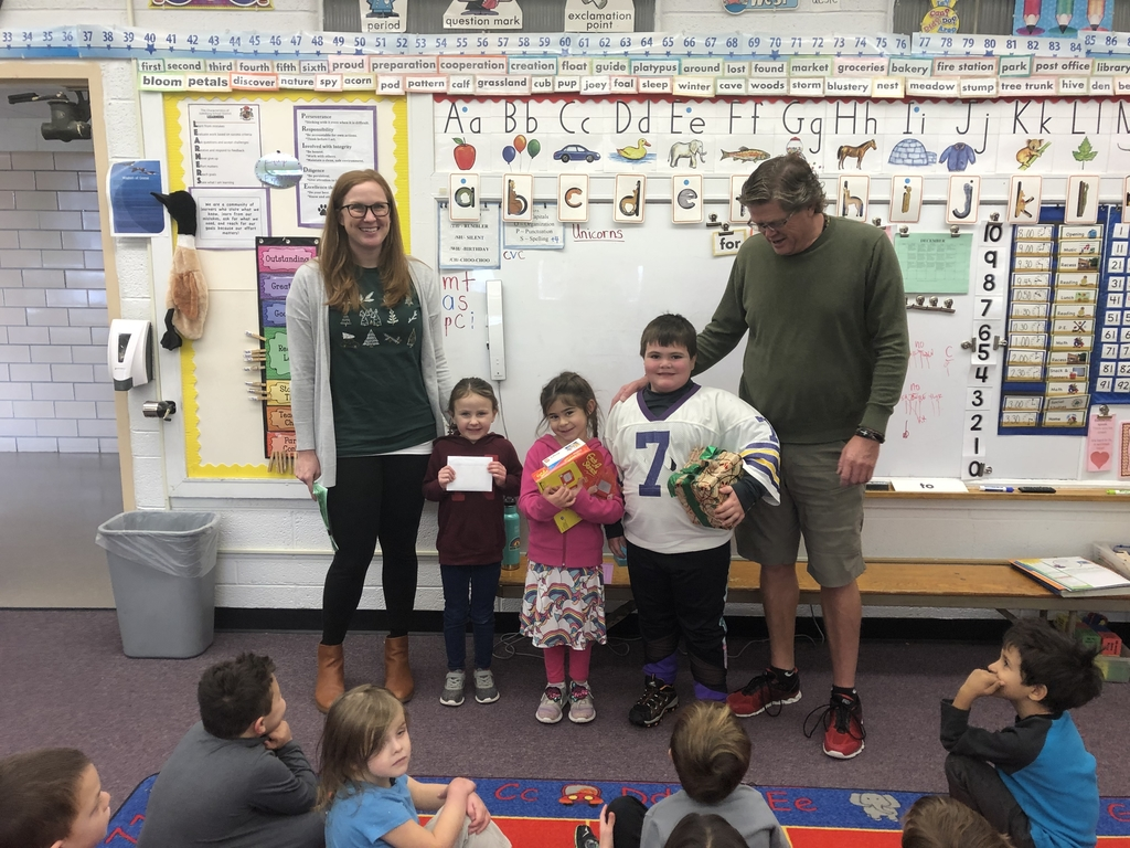 Kindergarten winners