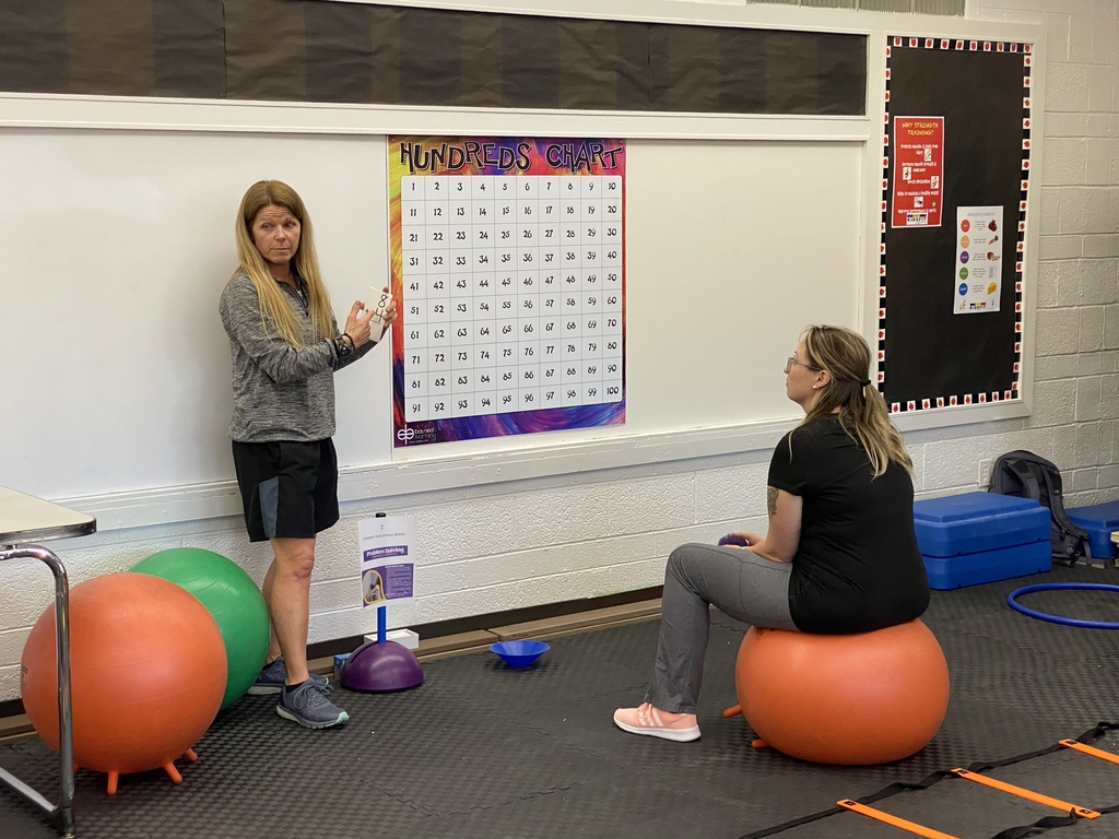 Training teachers in how to incorporate math with exercise.