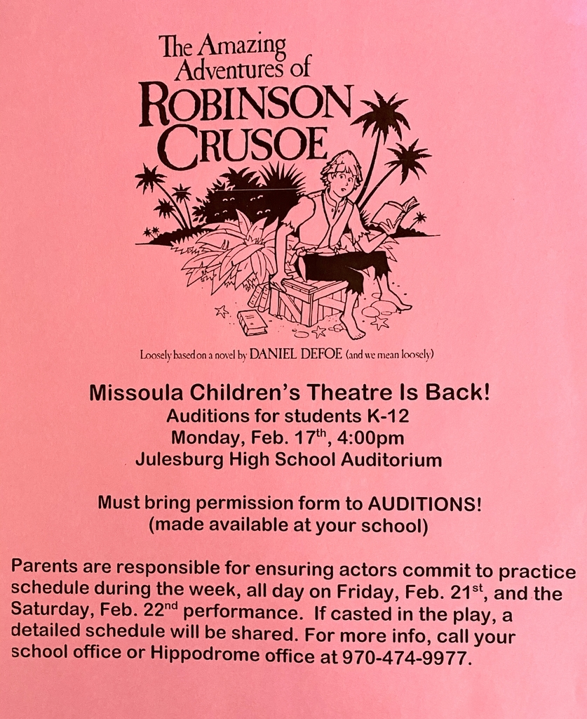 Missoula Children's Theater Announcement