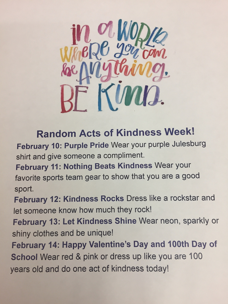 Random Acts of Kindness Dress Up Days