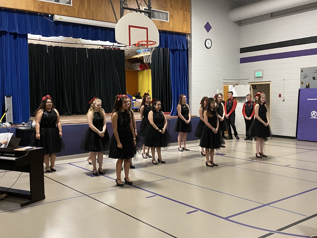 JHS Show Choir Performance at the elementary.