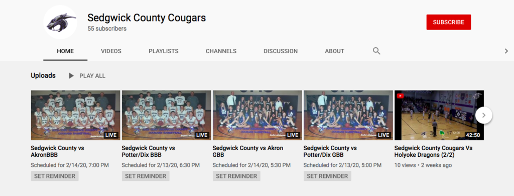 Sedgwick County Youtube