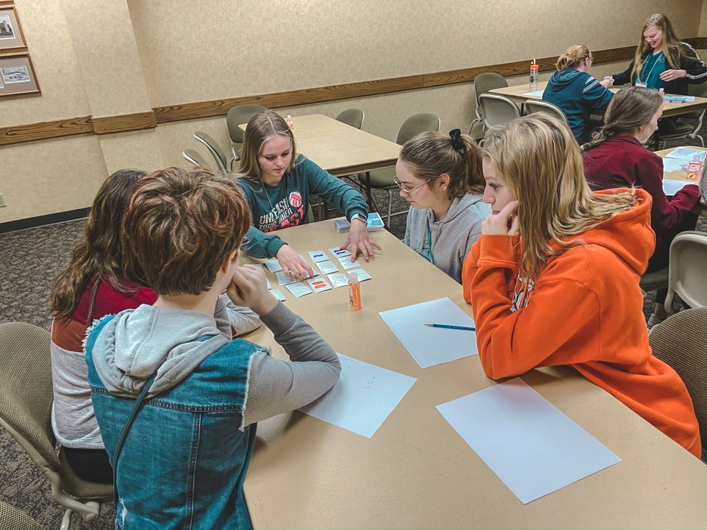 (Part 2/2) Just before spring break, our high school girls participated in the 1st Sonia Kovalevksy Day at Colorado State University. At this event, young women were given the opportunity to explore what mathematics can offer in a different format than a traditional classroom setting. The students learned about ongoing research in mathematics and took part in fun workshops like the games of SET and Hackenbush, the probability involved in winning rock-paper-scissors and Let's Make a Deal (Monty Hall), and cryptography where they decoded hidden messages.