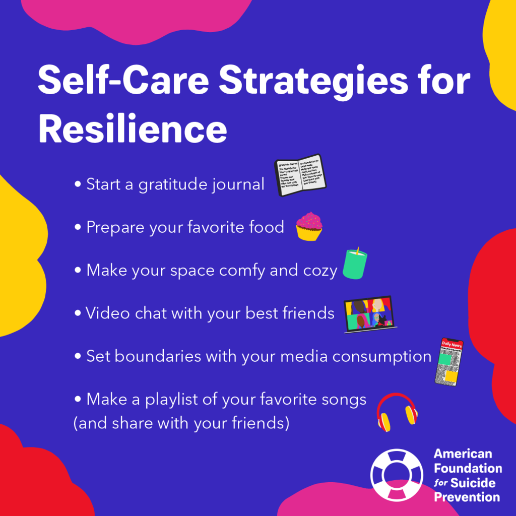 Self-Care Strategies for Resilience