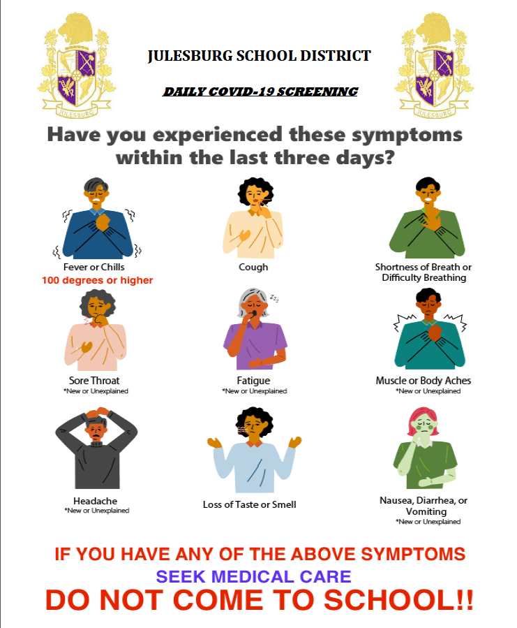 Daily Symptom Screening